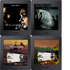 Mis novelas publicadas