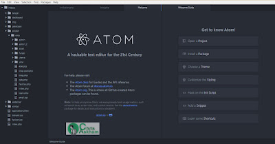 Atom.IO Software Text Editor Handal Gratis
