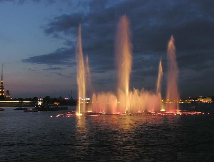 Different Fountains around the World
