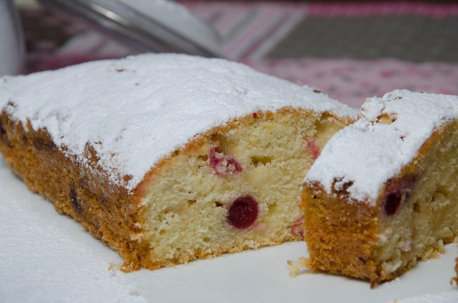 Ciasto z żurawiną