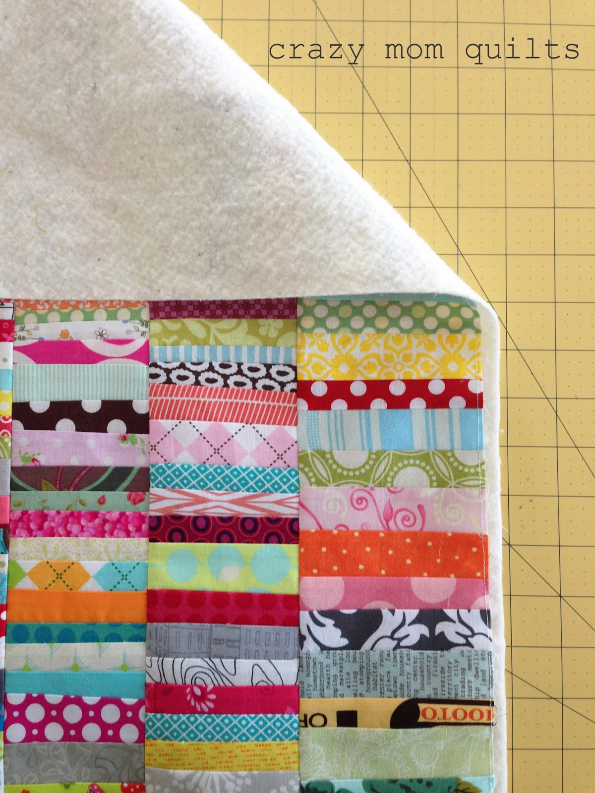 Quilt Pillow Cover Pattern: crazy mom quilts  how to make an envelope backed pillow,