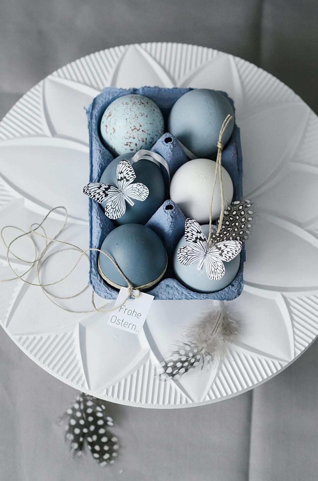 Zu Ostern Mach Ich Blau Sinnenrausch Der Kreative Diy Blog Für