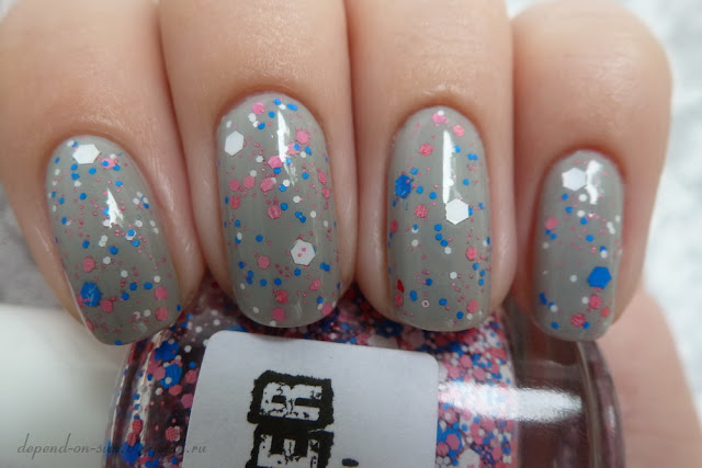 Lush lacquer Mr. Bubble & Zoya Dove