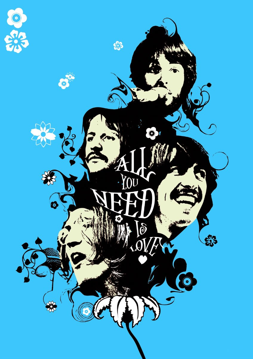Displaying 18> Images For - Beatles All You Need Is Love...