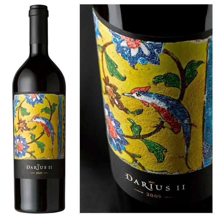 napa valley design packaging grafica bottiglia etichetta decorazione colori