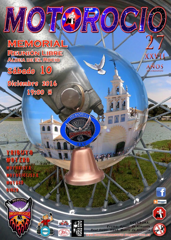 MotoRocío Memorial 2016 CartelMR27-2016