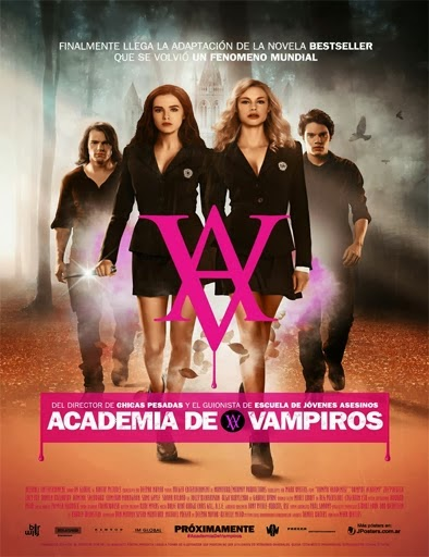 Ver Academia de Vampiros (Vampire Academy) (2014) Online