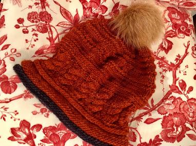 Spirit, a new winter hat pattern!