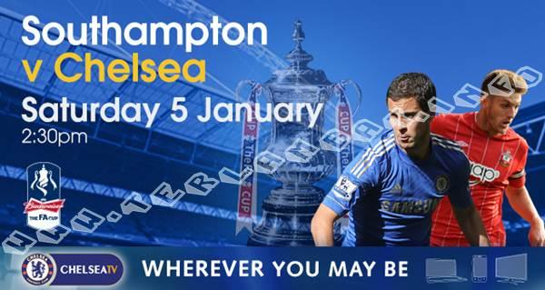 Southampton VS Chelsea FA Cup 2013