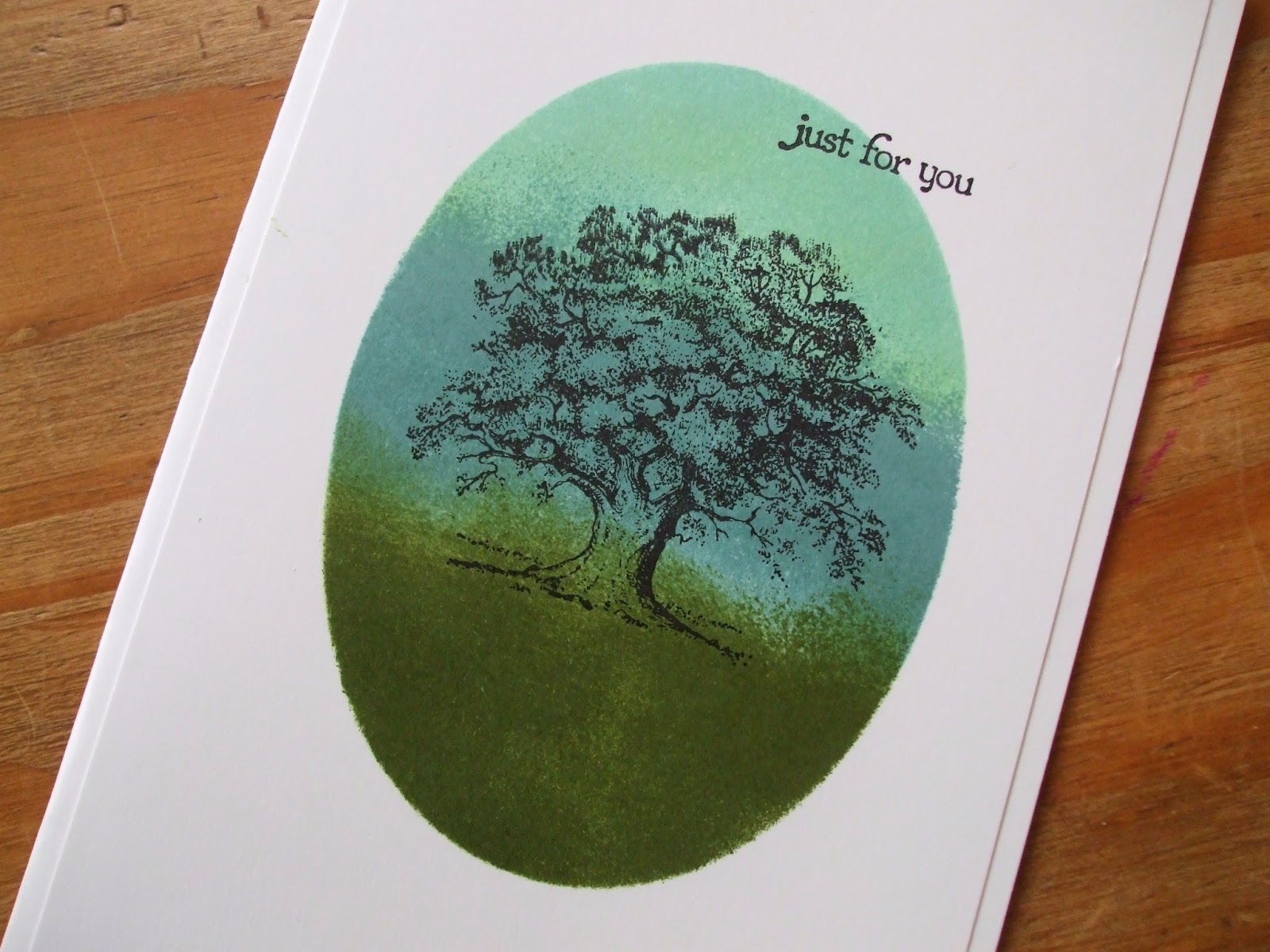 Stampin' Up! Lovely as a Tree, Lost Lagoon, Mossy Meadow