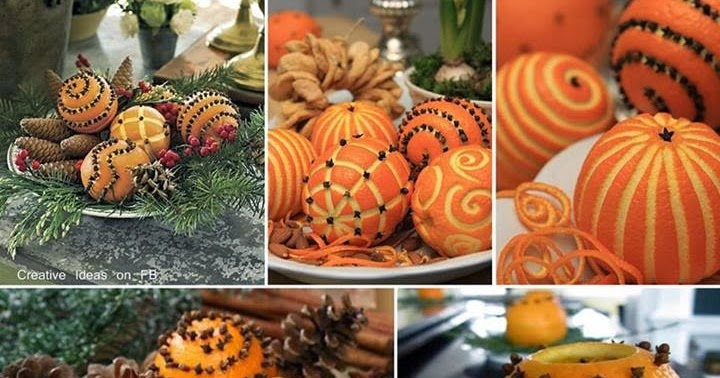 Recicla inventa ambientador natural de naranjas con clavos - Ambientador natural para casa ...