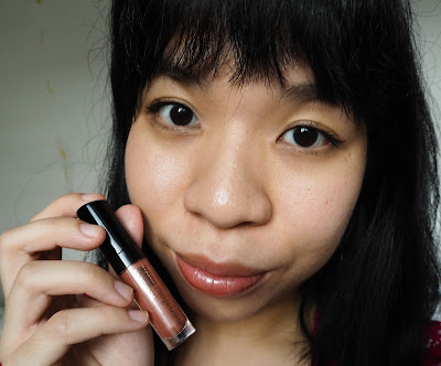 bareMinerals Marvellous Moxie Lip gloss in Spark Plug