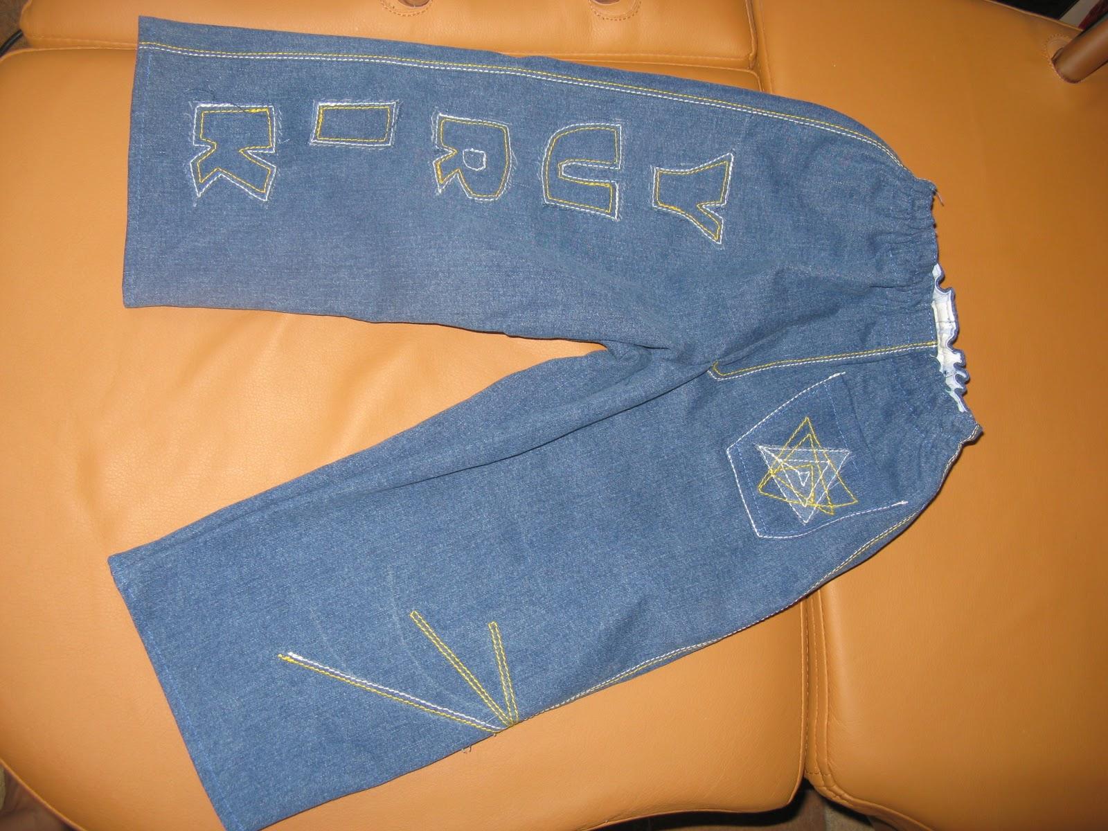 Сшить джинсы мальчику из старых джинсов 50