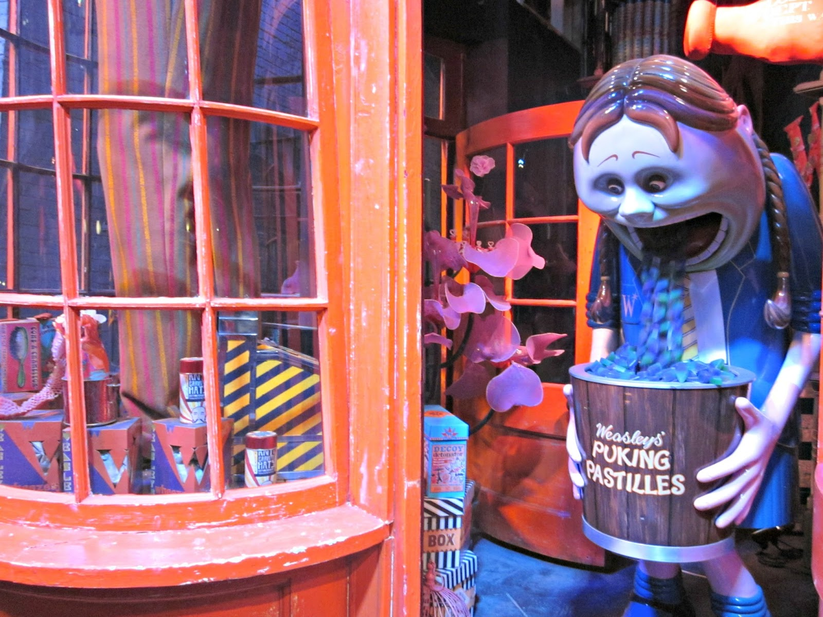 Weasley's Wizarding Wheezes at The Making Of Harry Potter Warner Brothers Studio Tour
