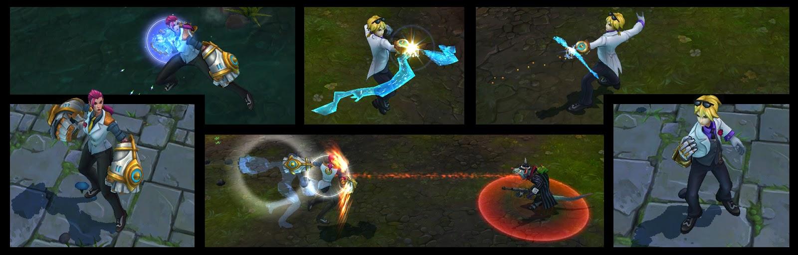 League of Legends: Debonair Vi and Ezreal have arrived