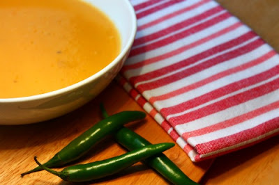 Spicy Carrot and Sweet Potato Soup