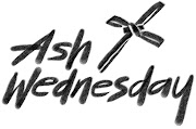 Ash Wednesday Clip Arts