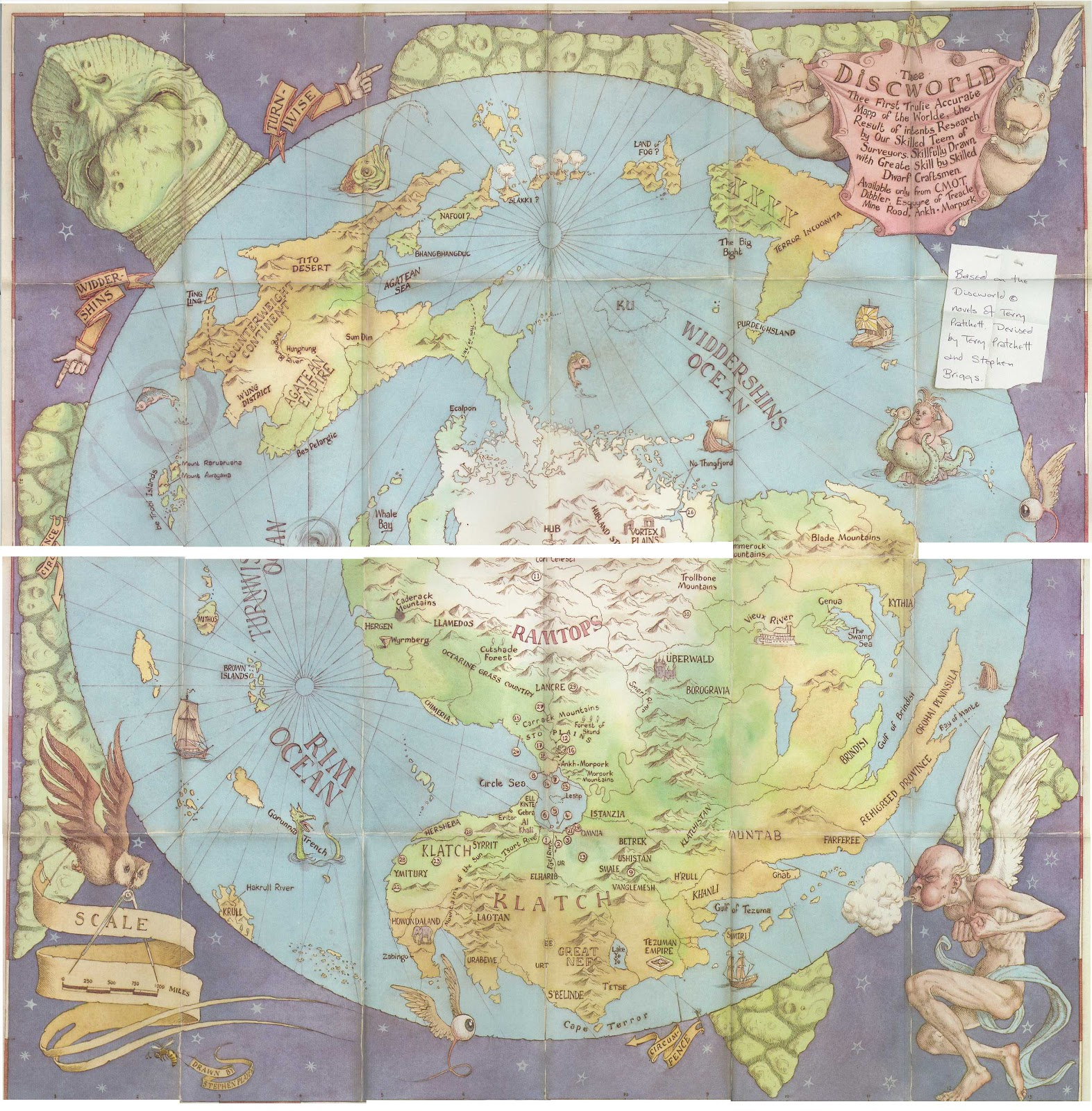 Old maps expeditions and explorations discworld discworld gumiabroncs Choice Image