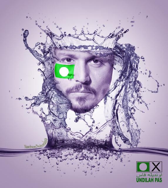 Johnny Depp sokong PAS - Foto manipulasi