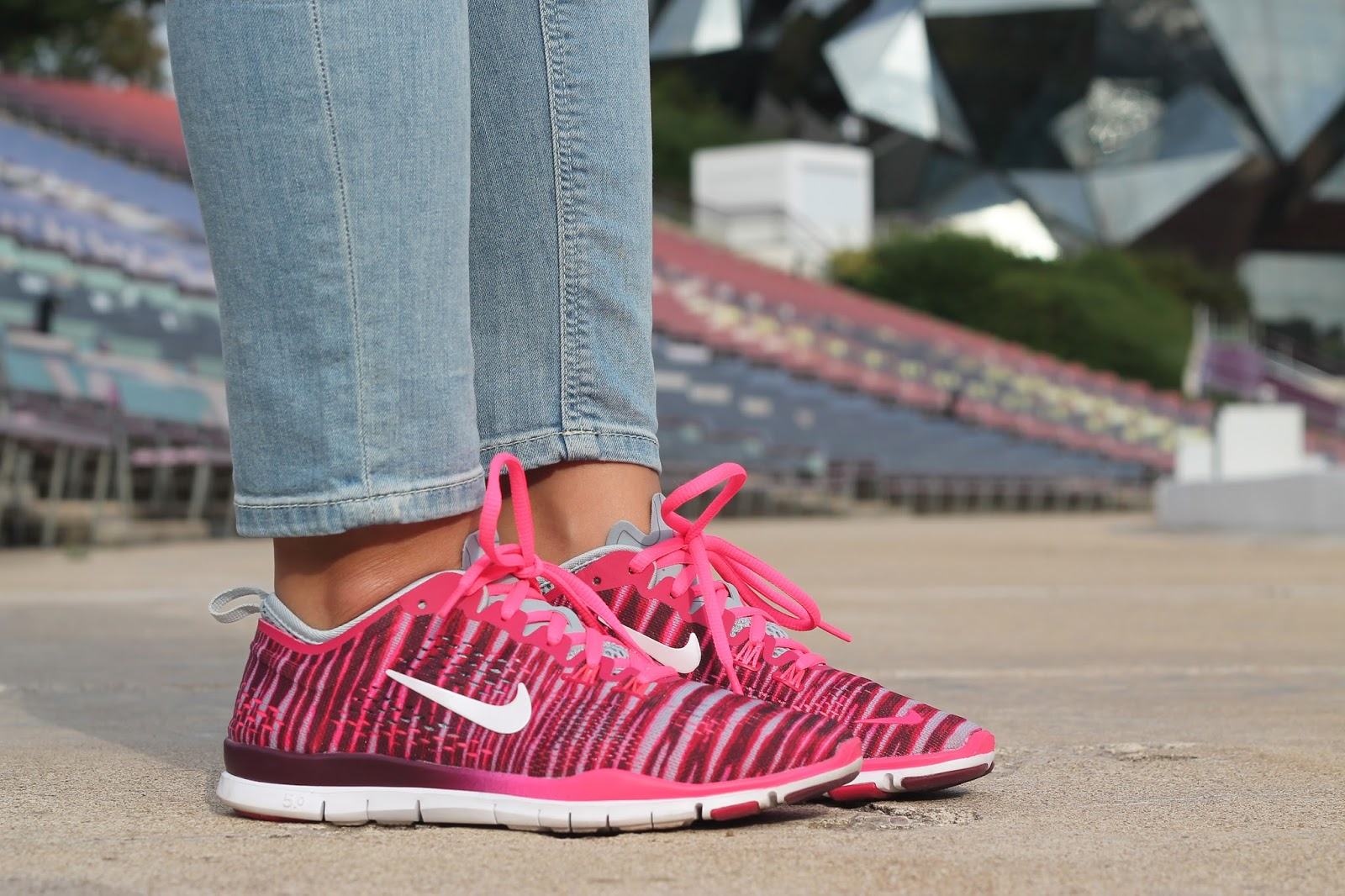 Nike free TR fit 4 rose