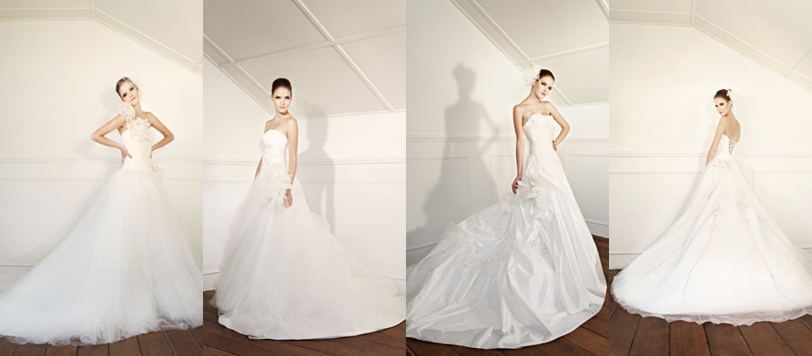 Gowns by divine couture bashful brides for Super low back wedding dress