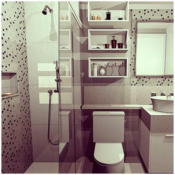 Dicas da Gaby InspiraDecor  Nichos no Banheiro -> Nicho Banheiro Dicas