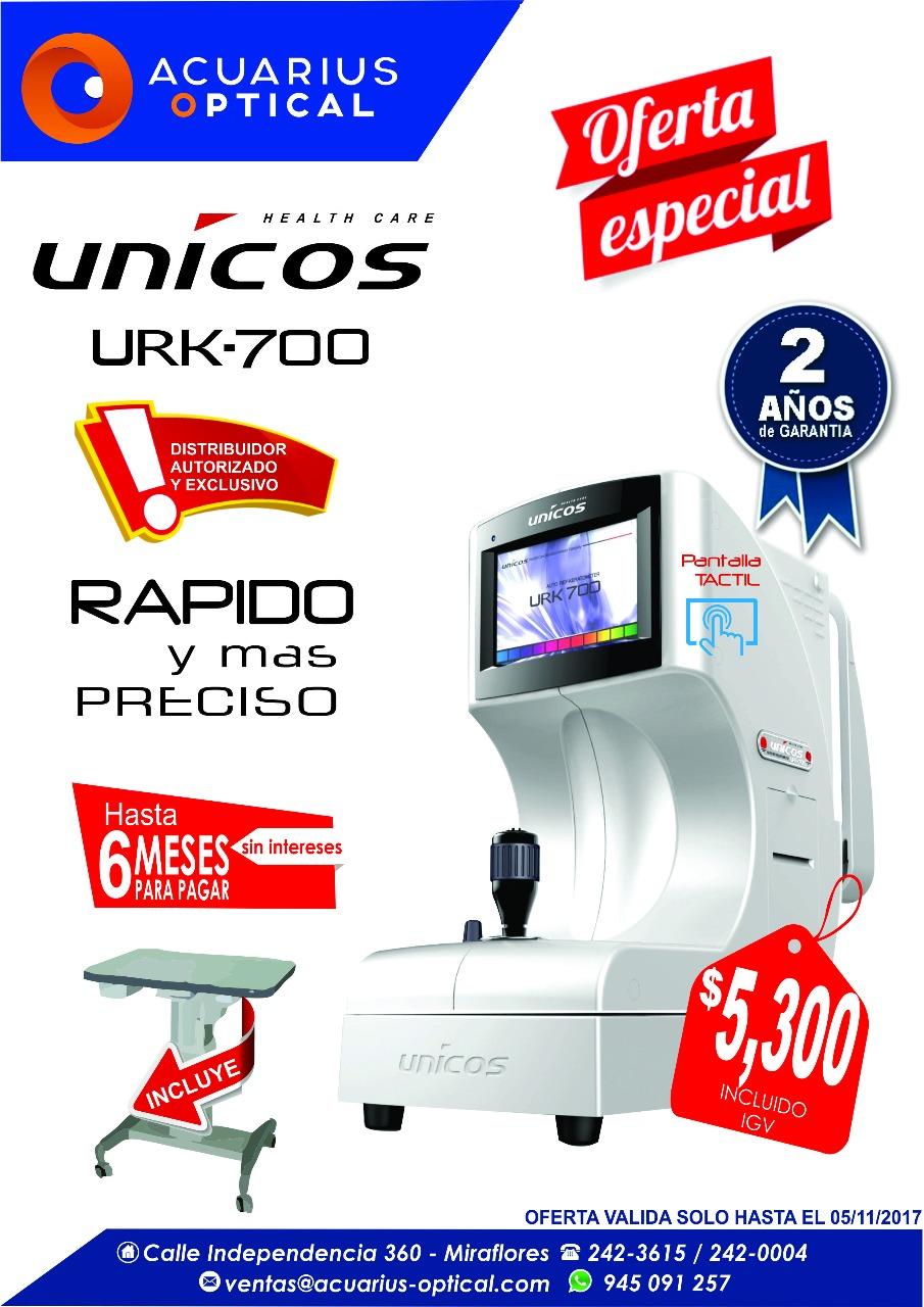 UNICOS URK -700 PRECIO $ 5,300