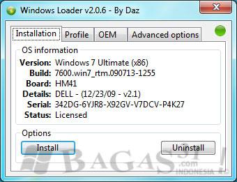 Windows Loader v2.0.6 Terbaru 2011 2