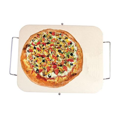 Rectangle Pizza Stones : Survive the elements cucinaware rectangular pizza stone