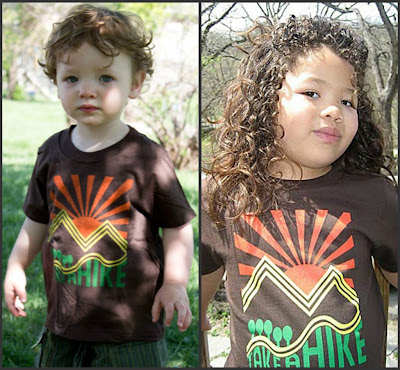 organic+cotton+take+a+hike+t shirt - Organic Kids Clothing for Matching Family Photos