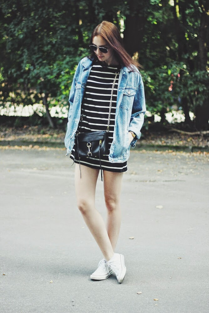 OOTD: Striped Dress