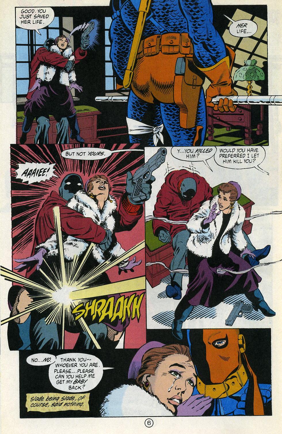 Deathstroke (1991) Issue #2 #7 - English 8