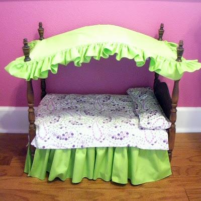 Кроватка для барби своими рукам фото 742