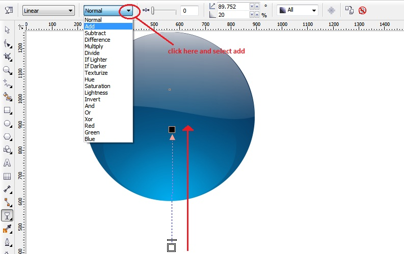 corel draw how to turn 2 objects at same time