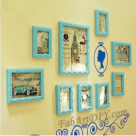 24 Romantic DIY Photo Display Wall Art Ideas - The Idea King