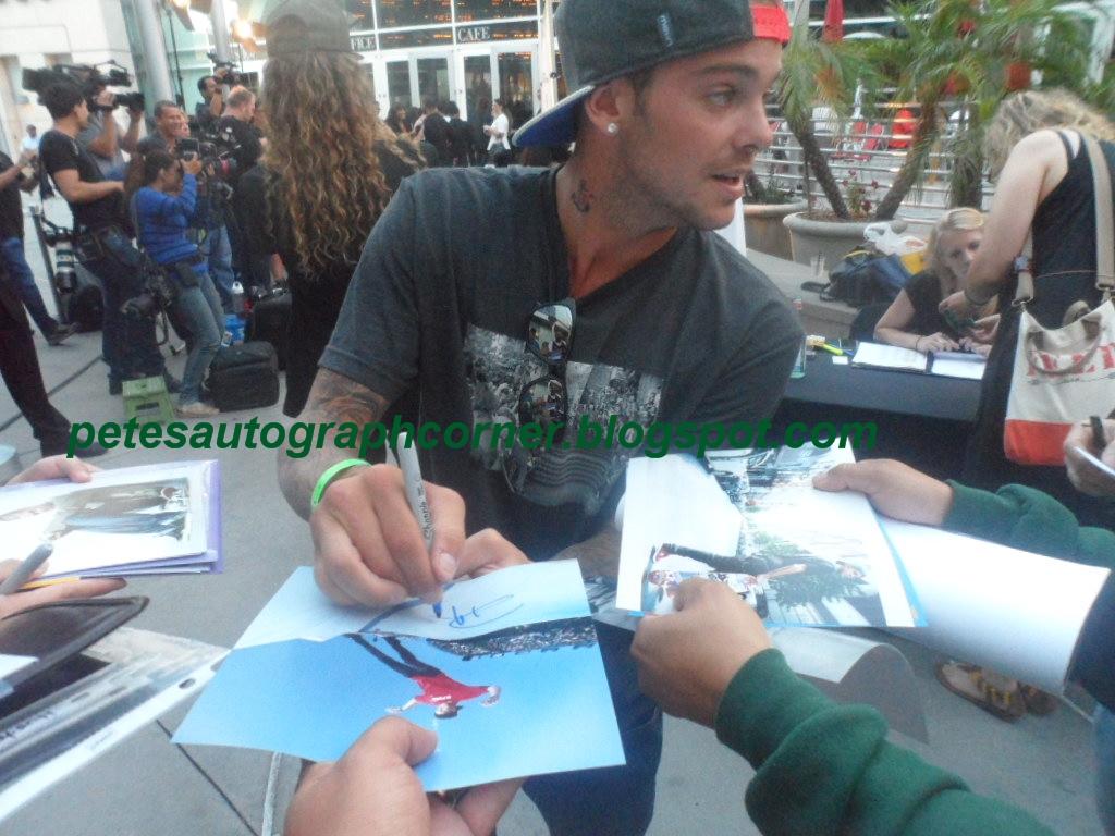Pete S Autograph Corner August 2013