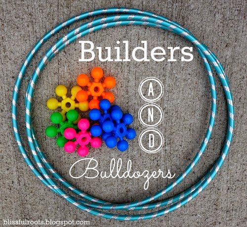 Builders & Bulldozers {Fun Family Backyard Game}