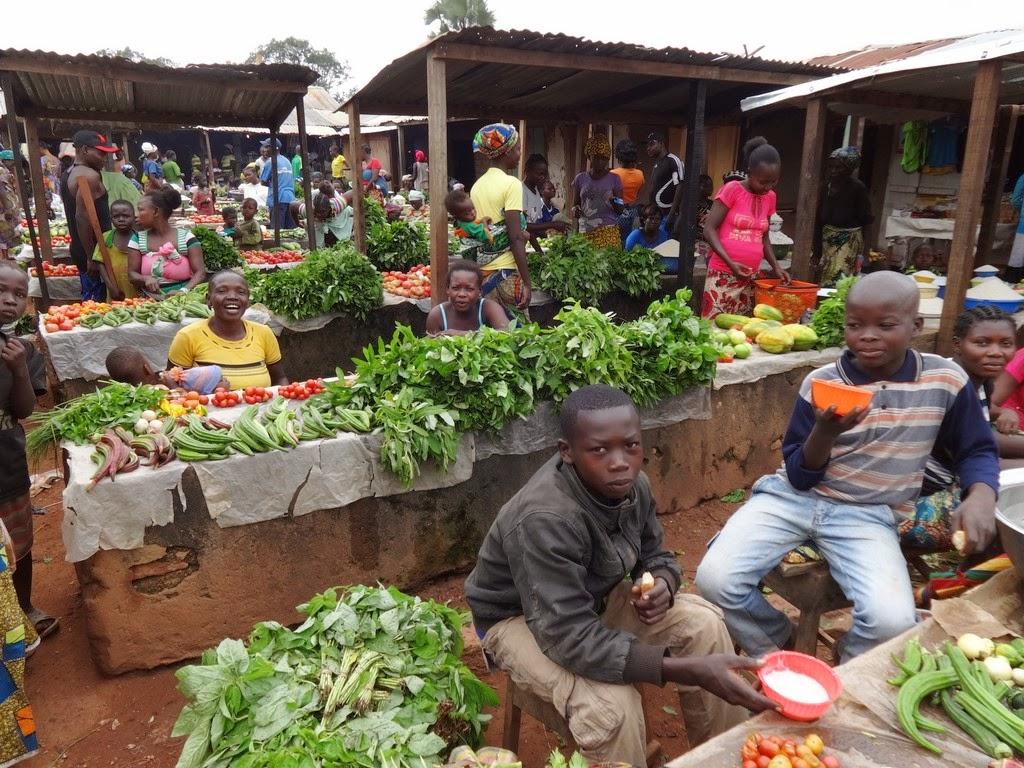 R.C.A.: mercato di Bozoum