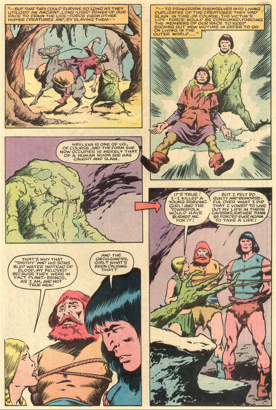 Conan the Barbarian (1970) Issue #163 #175 - English 20