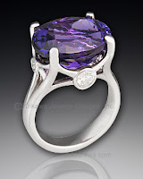 Tanzanite Right Hand Ring