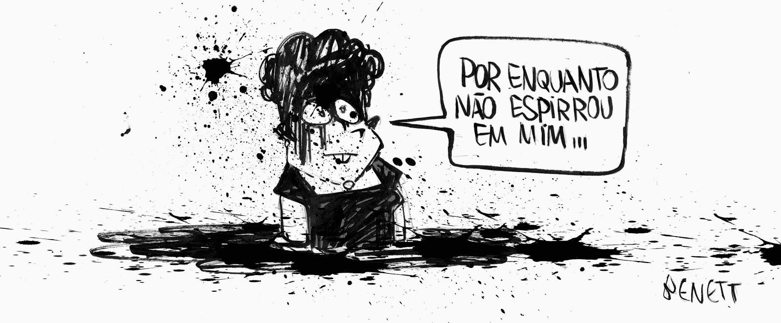Alberto Benett: Dilma Rousseff.