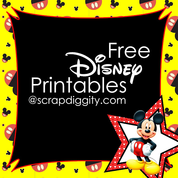 Disney World Printable Stationary - Colorings.net