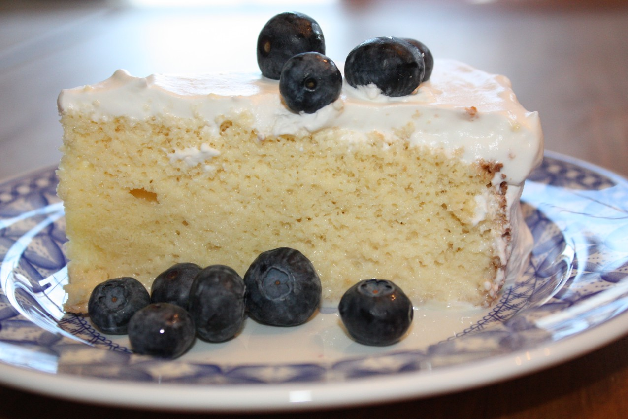 pass the peas, please: pastel de tres leches (three-milk cake)