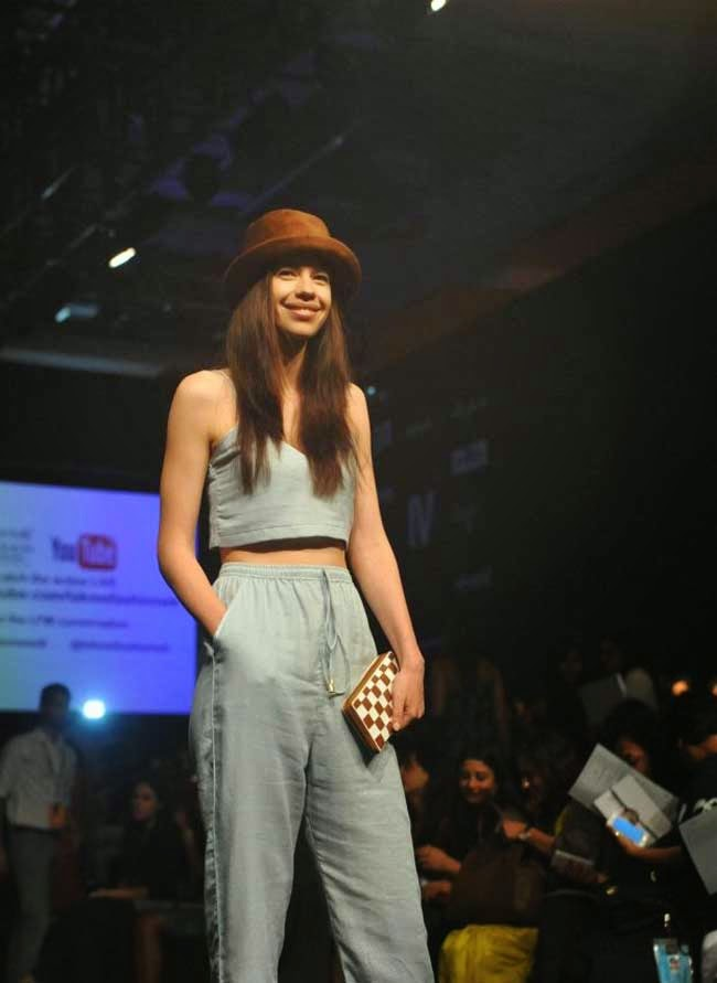 Kalki Koechlin at LFW Summer Resort 2014