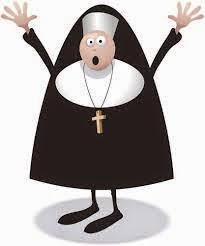 Chiste religioso, monja, convento, pareja, guardia, civil, tráfico.