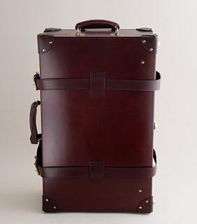 jcrew Swaine Adeney Brigg trolley suitcase