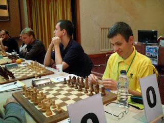 David Navara de l'équipe tchèque de Novy Bor qui remporte la Coupe d'Europe des Clubs © Chessdom