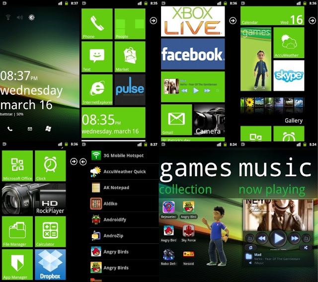 Android launcher7 free download