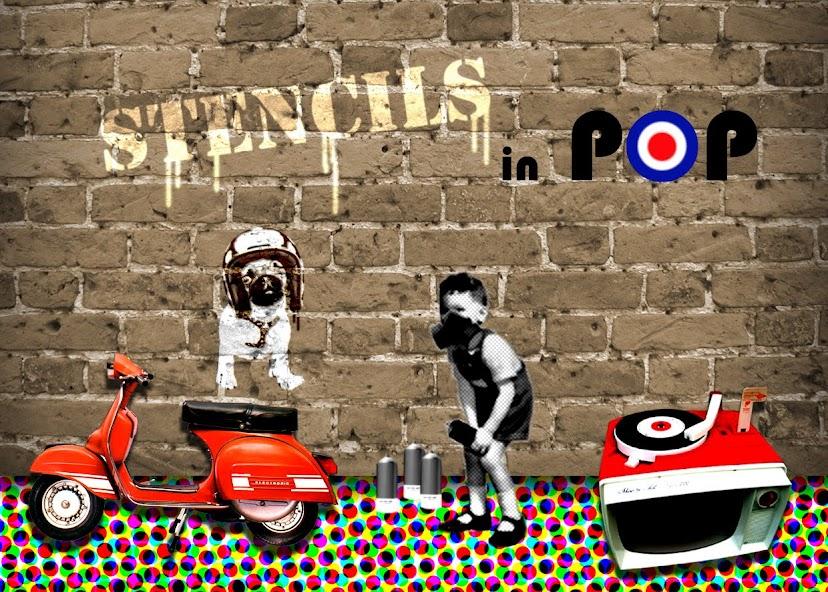 Stencils in Pop