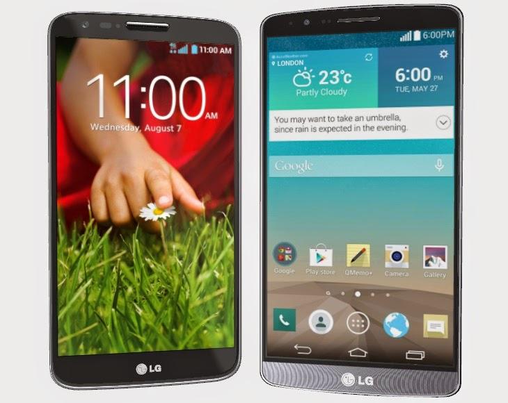 LG G2 ve LG G3 arasındaki farklar